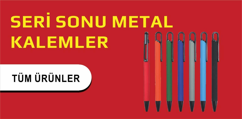 SERİ SONU METAL KALEMLER